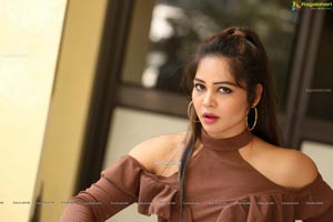 Zaara Khan at Ranasthalam Audio Launch