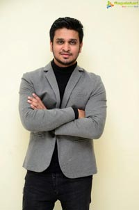 Nikhil Siddharth at Arjun Suravaram Interview