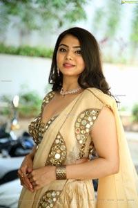 Akshata Sonawane at Prathyardhi Movie Launch