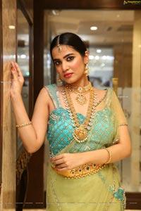 Jahnavi Rao at Manepally Jewellers Dhanteras Collection