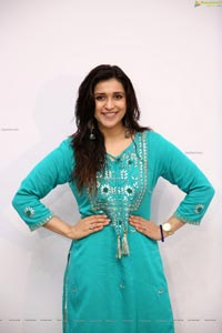 Mannara Chopra at Sutraa Grand Curtain Raiser