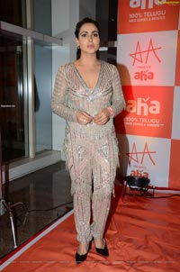 Nandini Rai at Aha Event An Evening with Stars