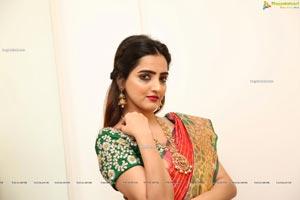 Pooja Thakur at Sri Krishna Silks Special Wedding Collection