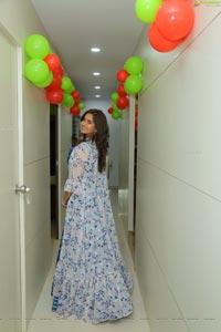 Pujita Ponnada at BeYou Salon Launch