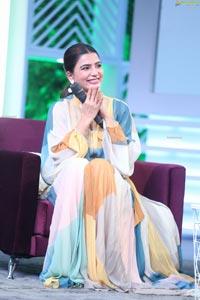 Samantha Akkineni at Sam Jam Celebrity Talk Show Press Meet