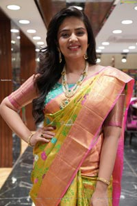 Sreemukhi at Brand Mandir