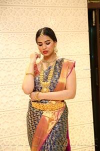 Vaishnavi Rao at Manepally Jewellers Collection