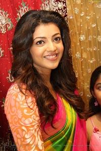 Kajal Agarwal in Pink Saree