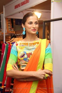 Kingfisher Model Shilpa Reddy in Saree