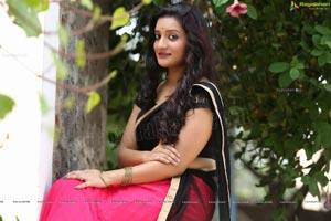 Ragalahari Exclusive Shoot Beautiful Telugu Heroine Janani In Half Saree Janani Ragalahari Wallpapers