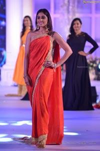 Regina Cassandra in Red Saree