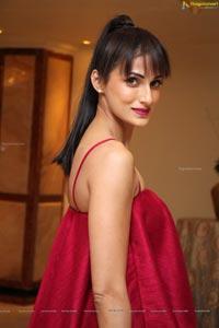 Shilpa Reddy Red Dress