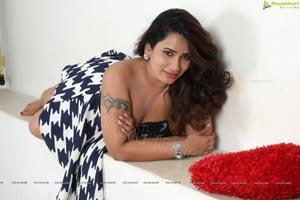 Sanjana Naidu Spicy Shoot