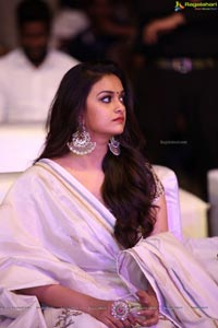 Keerthy Suresh at Pandem Kodi-2 Audio Release