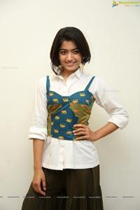 Rashmika Mandanna @ Devadas Sucessmeet