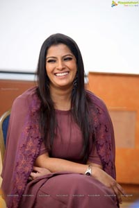 Varalaxmi Sarathkumar at Sarkar Interview