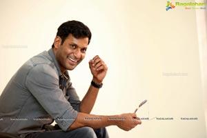 Vishal at Pandem Kodi 2 Interview