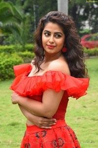 Avika Gor at Raju Gari Gadhi 3 Pre Release
