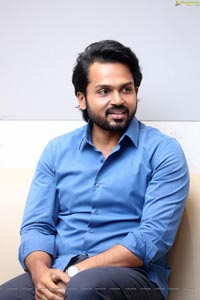 Karthi at Khaidi Movie Interview