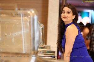 Manjusha at Whistle Movie Press Meet
