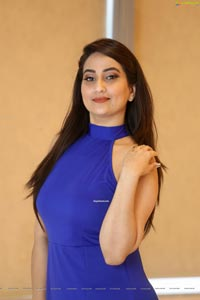 Manjusha at Whistle Movie Press Meet