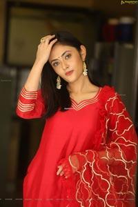Megha Chowdhury at Oorantha Anukuntunnaru Interview