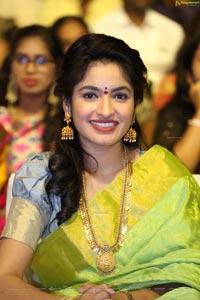 Priya at Tupaki Ramudu Pre-Release Event