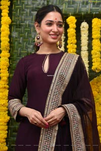 Tamannaah at Gaopichand's New Movie Opening