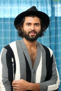 Vijay Deverakonda at MMC Interview
