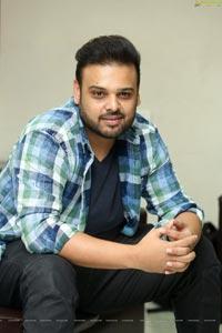 Nawin Vijay Krishna at Oorantha Anukuntunnaru Interview