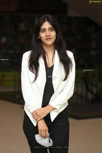 Chandini Chowdary at Color Photo Success Meet
