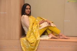 Geetha Bhagat at Orey Bujjiga Pre-Release Event
