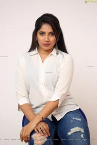Anchor Indu at GST Movie