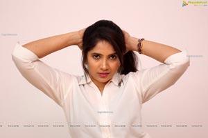Anchor Indu at GST Movie
