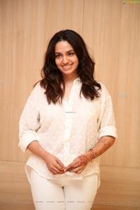 Malavika Nair at Orey Bujjiga Success Meet