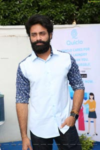 Navdeep at Quiclo First Anniversary Celebrations