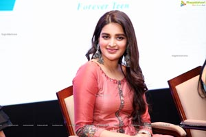 Nidhhi Agerwal at Kakatiya Fabrics 19 Teen Launch