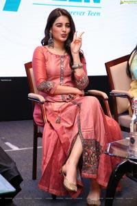 Nidhhi Agerwal at Kakatiya Fabrics 19 Teen Launch