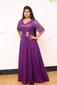 Pooja Suhasini at GST Movie Logo Launch