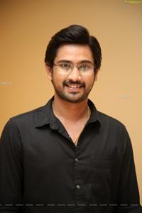 Raj Tarun at Orey Bujjiga Pre-Release Event