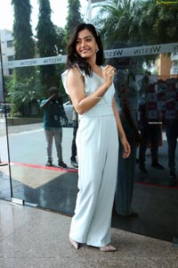 Rashmika Mandanna at Sanipro Sanitary Napkins Launch