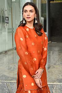 Aditi Rao Hydari at Maha Samudram Movie Press Meet