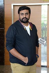 Director Ajay Bhupati at Maha Samudram Movie Interview