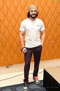 Akhil Akkineni Stills at Most Eligible Bachelor Interview