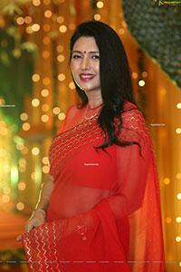 Deepti Bhatnagar at Pelli SandaD Pre-Release Event