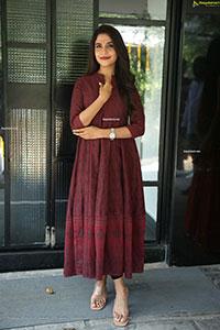 Sampada Hulivana at Mass Maharaja Movie Opening