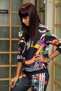 Supermodel Sharon Fernandes