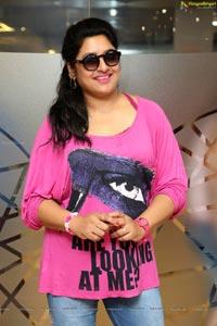 Actress Sana Pink T Shirt