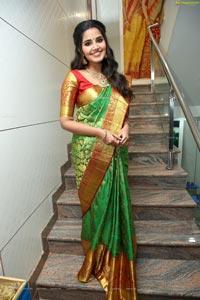 Anupama Parameswaran at Anutex Shopping Mall