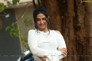 Avika Gor at Raju Gari Gadhi 3 Trailer Launch